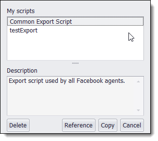 Scripting Script Template Library - Facebook ad template library